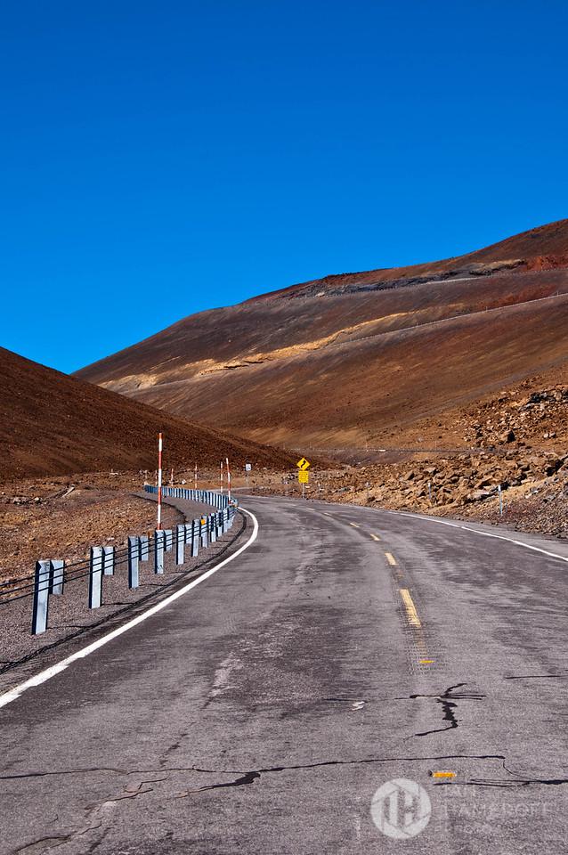 Mauna Kea Observatory Road