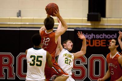 Hinsdale Central High School boys' varsity basketball team plays Stevenson, December 26, 2012, at Proviso West. (Daniel White photos).