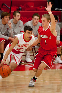 Hinsdale Central High School boys' varsity basketball team plays Naperville Central, December 8, 2012, in Naperville. (Daniel White photos).