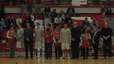 2/12/2013 vs York Varsity (Senior night)