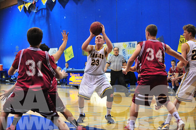 Arroyo Grande High School Boys Basketball 20130116.  Final: Arroyo Grande ?  Paso Robles 0  © 2013 Ray Ambler - RA Photos, All Rights Reserved