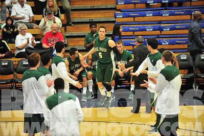 Cal Poly Mens Basketball vs UC Santa Barbara.  Jan. 19, 2013; Santa Barbara, California:  Cal Poly Lost 83-81 Photo: Ray Ambler | raphotos.com