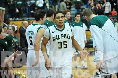Cal Poly vs. 20130105 © 2013 Ray Ambler - RA Photos, All Rights Reserved
