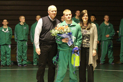Senior Night/Inglemoor Dual Jan 17, 2013
