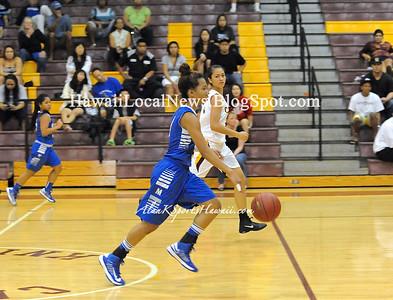 "01-10-13 Moanalua Varsity Girls Basketball ""vs"" Castle Knight's (41-34)"