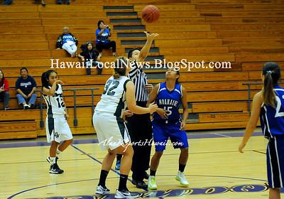 "11-17-12 MoHS Pre-Season Peek Tournament Girls Basketball ""vs"" University Girls (36-20)"