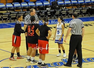 "12-12-12 MoHS JV Girls Basketball ""vs"" Kahuku Red Raiders (36-43)"