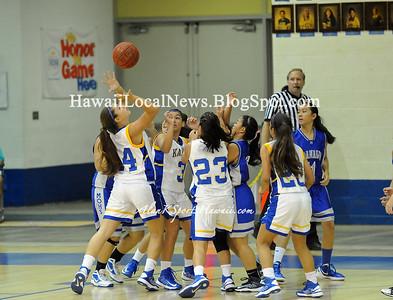 """12-28-12 MoHS JV Girls Basketball """"vs"""" Kaiser Cougars (49-44)"""