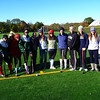 Students and Alumnae after the Field Hockey game at Faxon Farm
