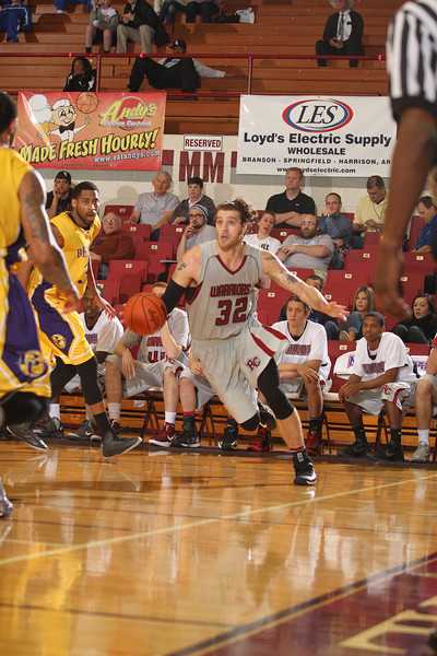 First Round Action at the 2013 NAIA Men's Division II Basketball National Championship, Keeter Gymnasium, Point Lookout, Missouri. photo: CIPhotography.com