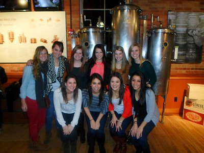 Sigma Kappa Senior Class Brewery Tour