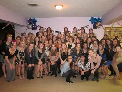 Sigma Kappa Founder's Day birthday party celebration