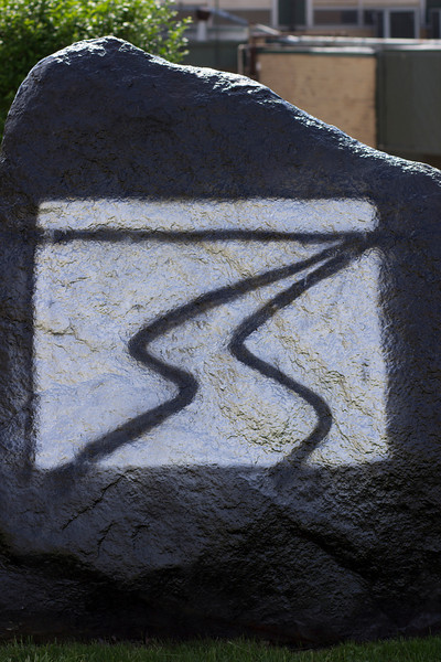 Streaming Logo painted on RC's Rock