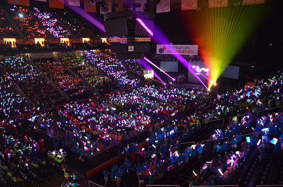 Opening Ceremony of Destination Imagination Global Finals 2013.