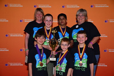 Auburn Village School, Third Place in the world, technical challenge