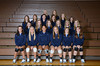 Front Row L to R: Aleida Oerter,Jasey Hartman, Chandell Brown, Ronni Wilkinson, Adanna Paden, Sierra Schurmann<br /> 2nd Row L to R: Hayley Hall, Kenzie Lingenfelter, Hannah Bellinghausen, Ashley Holm, Kailee Leonard, Phoebe Morrow<br /> 3rd Row L to R: Sophie Lentfer, Adi Dunlap, Morgan Mathers, Emma Lee, Allysa Catt, Brianna Rice<br /> 4th Row L to R: Coach Tobiann Waters, Coach Ashley Glesmann