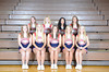 Front Row L to R: Autumn Pella, Morgan Shea, Jade Reno, Laura Musil, Taylor Bailey<br /> 2nd Row L to R: Stephanie Russell, Laura Stanard, Katie Johnson, Kianna Jones