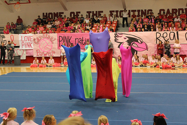 Pink Out Pep Rally 10/26/2012