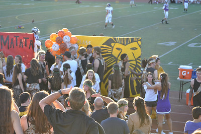 Home coming game Sep 12 2012