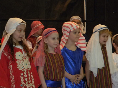 Kindergarten Passover Show