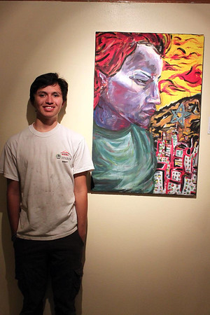 El Dorado Art Students Chalk the Block & Chamizal Art Show