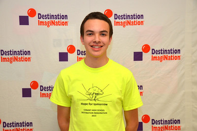 Congratulations to NH Destination Imagination Scholarship Award Winner Ben Desmarais of Conant High School,