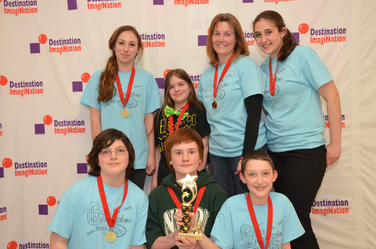 Windham DI, Windham, #130-94012 2nd place, in the zone, elem level