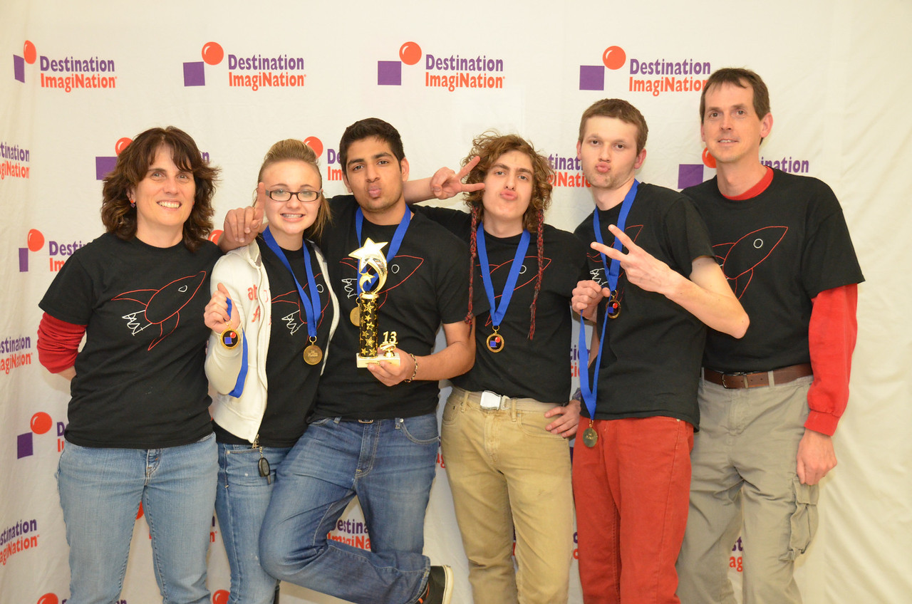Pinkerton Academy, Hampstead, #130-29525  1st place, in the zone, sec level