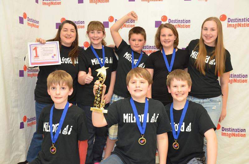 Milford Elementary DI, Milford, #130-22440 1st place, twist-o-rama, elem level
