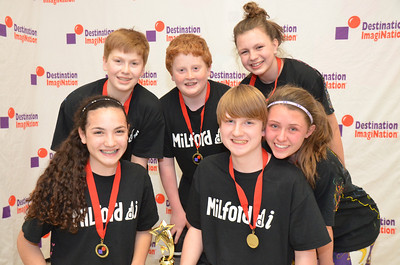 Milford Middle School, Milford, #130-06307  2nd place, twist-o-rama, mid level