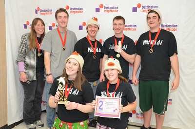 Milford High School, Milford, #130-38995 2nd place, twist-o-rama, sec level