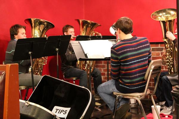 Dec. 19 Tuba Christmas at Asiel's