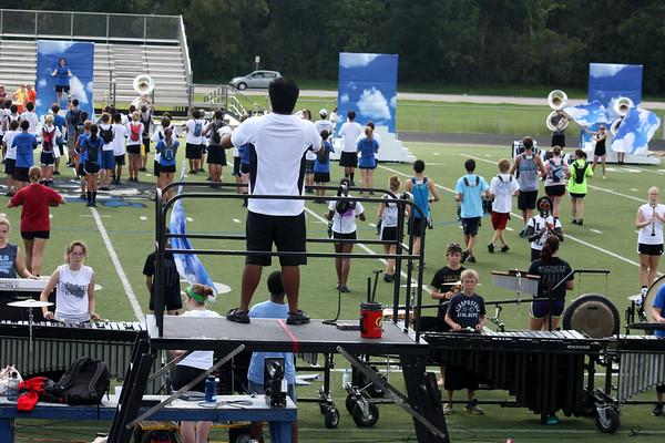 Oct 12 run through at Slade Field