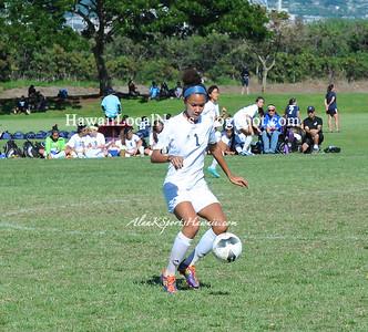 02-01-13 32nd Annual Girls Soccer State Championship - Konawaena Wildcats & Moanalua Na Menehune (2-0)