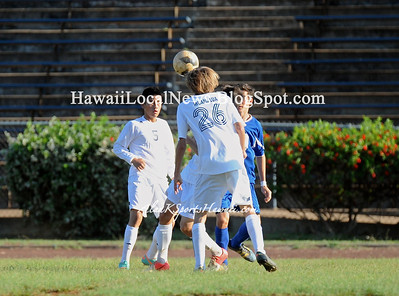 "12-29-12 MoHS Varsity Boys Soccer ""vs"" Kailua Surfriders"