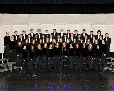 2013 Band & Choir Groups