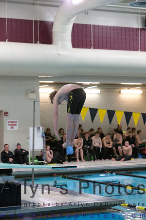 Boys Swimming vs Melrose