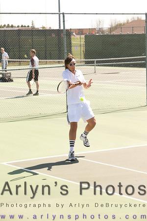 Hutch Boys Tennis Vs New Prague