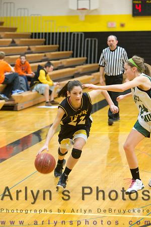 Hutch Girls Basketball vs Holy Family