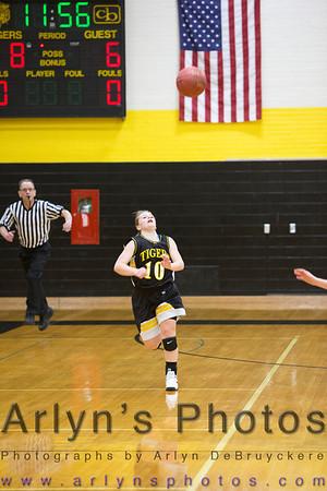 Hutch Girls Basketball vs New Ulm