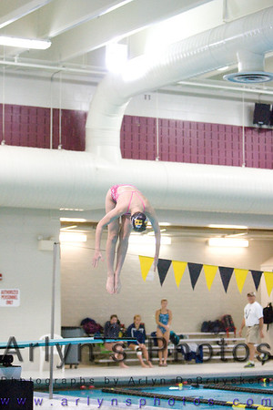 Hutch Girls Swim Conference Meet