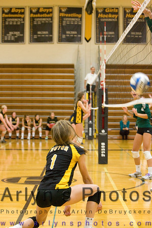 Hutch Volleyball vs Holy Angels