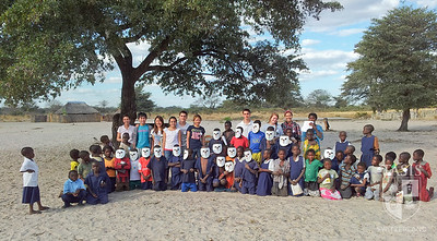 TASIS students in Zambia.