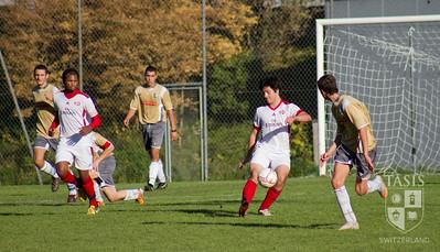 Boys Varsity Soccer vs. Raggruppamento San Bernardo    October 20, 2012