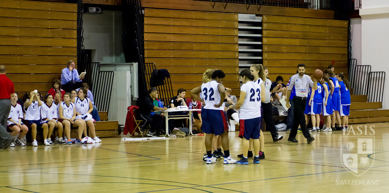 Varsity Girls Basketball vs. ISM (November 30, 2012)