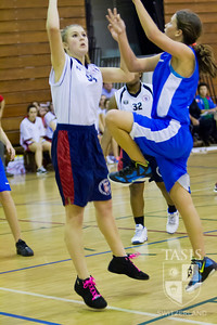 TASIS Girls Basketball vs. the International School of Milan - November 30, 2012 (TASIS 31 - ISM 14)