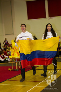 International Week - The Parade of Flags -2013