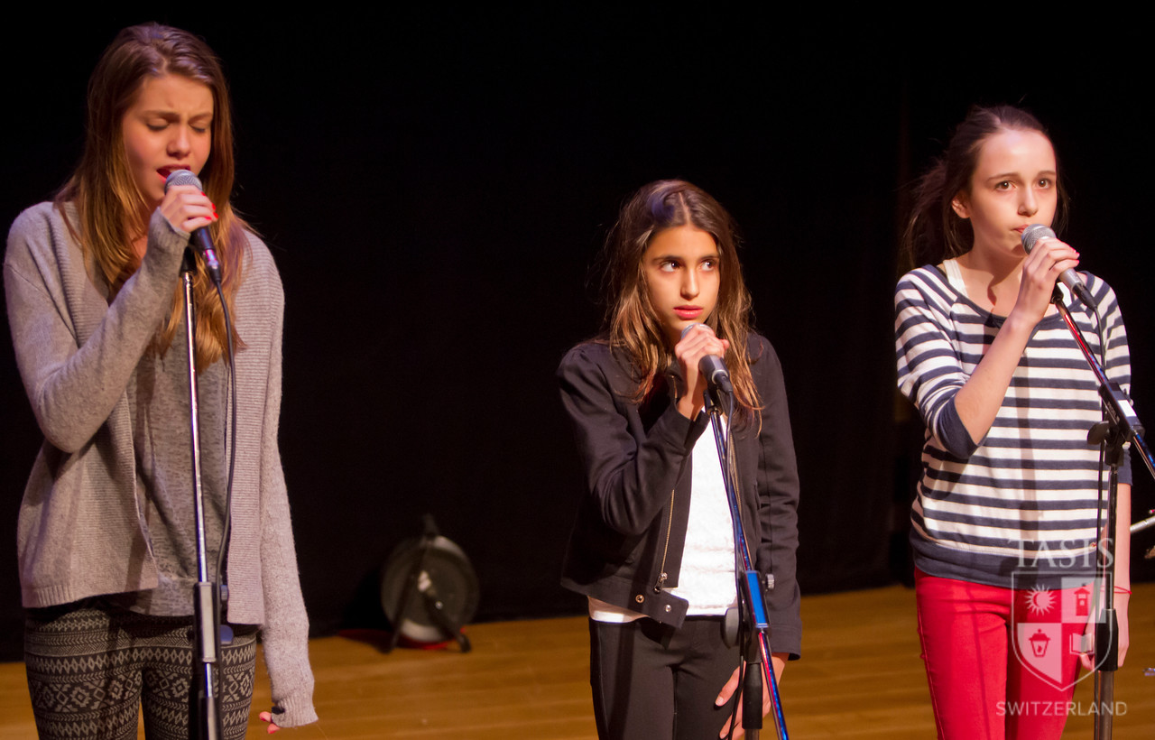 Middle School Talent Show 2013