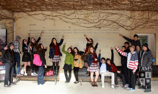 HS Spring Academic Travel 2013