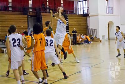 TASIS Varsity Boys Basketball Friendly (December 1, 2012)